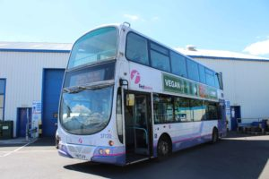 First Bus retrofitted by Eminox