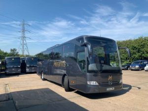 Hearns coach retrofitted by Eminox